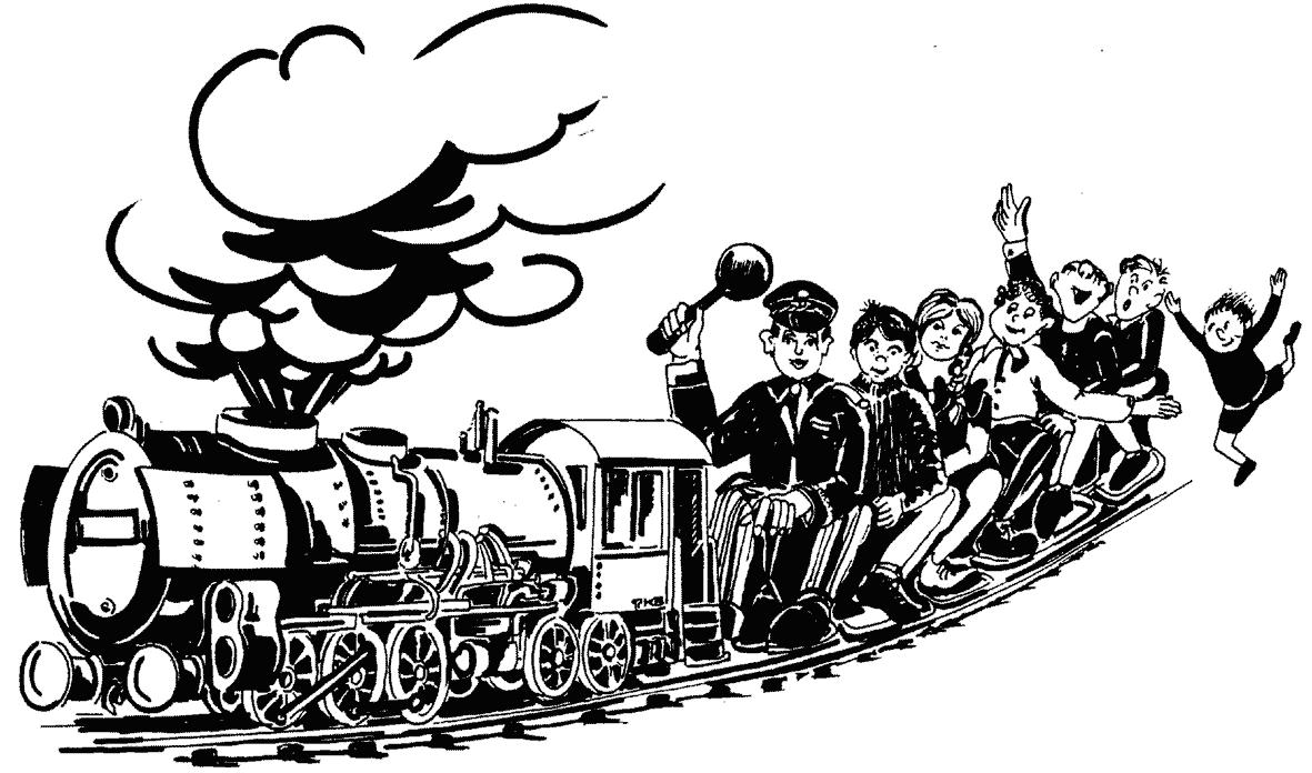 Kinderparadies - Wirtshaus zur Minidampfbahn